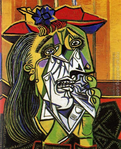 picasso paintings in in tears by pablo picasso painting reproduction
