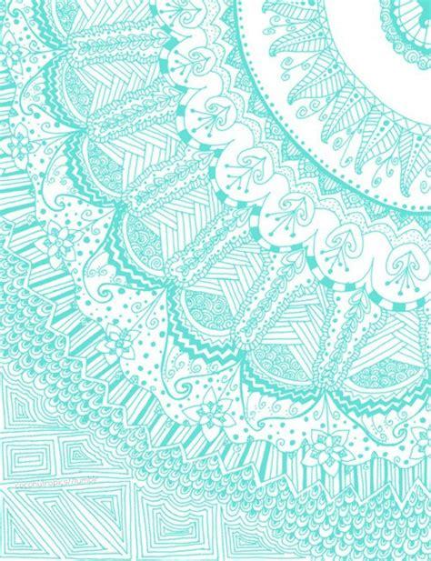 blue pattern wallpaper tumblr mandalas significados compartimos un brunch