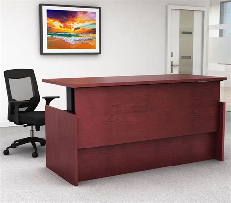 Stand Up Reception Desk Reception Desks Huntoffice Ie Stand Up Reception Desk