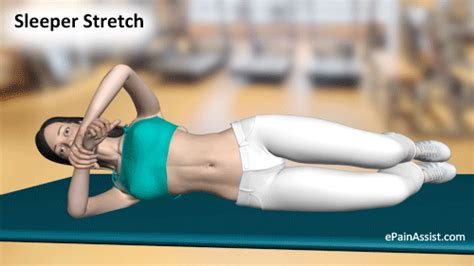 Sleeper Stretch by Sleeper Stretch Benefits Dangers How To Do Sleeper Stretches