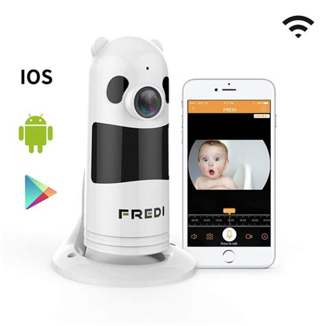 baby monitor for crib fredi baby monitor surveillance connected crib