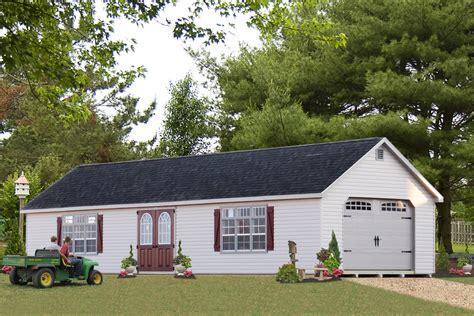 buy beautiful pre built garages with a premier design