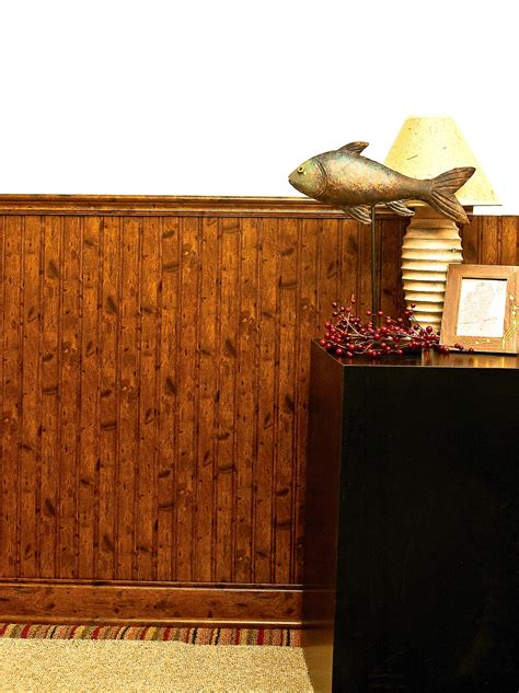 Putting Up Wainscoting Panels Outwater Introduces Its Interlocking Beaded Wainscoting