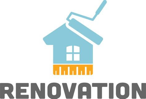 order to renovate a house free renovation logo provided by logo lagoon