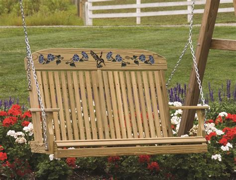 amish porch swing porch swings amish type pixelmari com