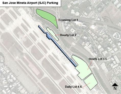 sjc terminal map san jose mineta airport parking sjc airport term
