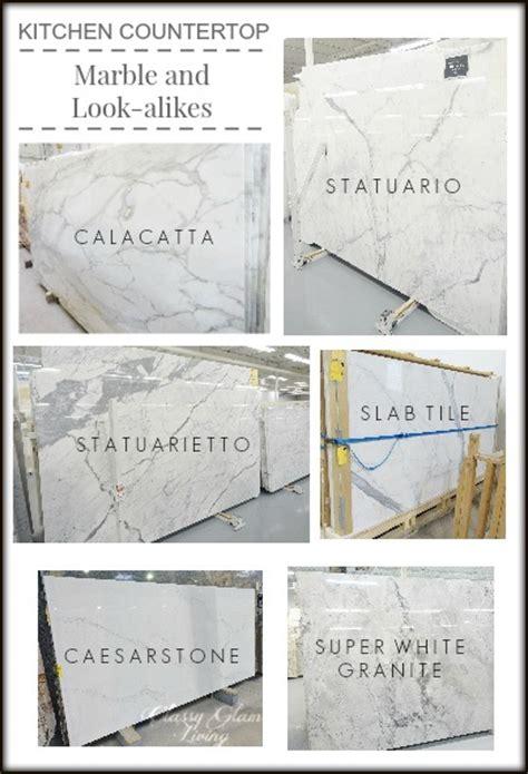 Granite Look Alike Countertops by Kitchen Countertops Marble And Look Alike Alternatives