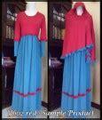 Bergo Princessa Combi baju gamis rihanna gaun pesta muslim maxi dress