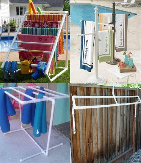Pool Towel Rack Ideas by 25 Best Ideas About Towel Rack Pool On