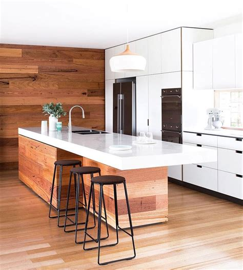 Bench For Kitchen Island Best 25 Island Bench Ideas On Pinterest Minimalist Island Kitchens Timber Kitchen And Modern