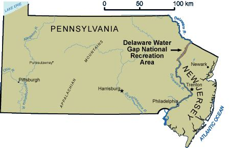 united states map delaware river introduction