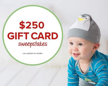 Gerber Sweepstakes - gerber childrenswear jolly good sweepstakes win a 250 gift card