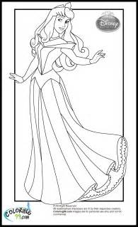 free coloring pages of disney princess aurora