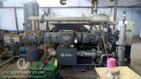 chicago pneumatic reciprocating air compressor