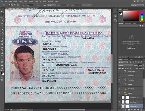 passport photo template psd usa passport psd template passport