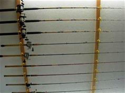 Fishing Pole Garage Storage Ideas Fishing Rod Rack On Fishing Pole Holder