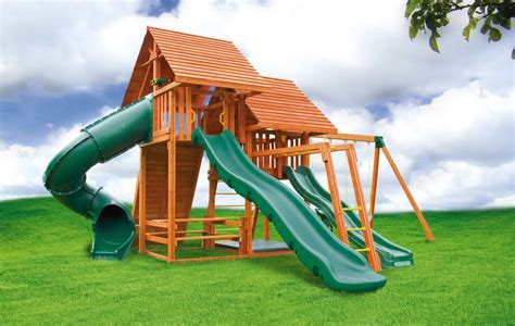 swing sets with sandbox multi deck sky 3 playground jungle gym eastern jungle gym