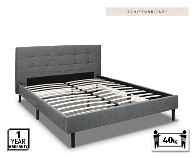 aldi bedroom furniture corbin modern style charcoal gray finish cal king size