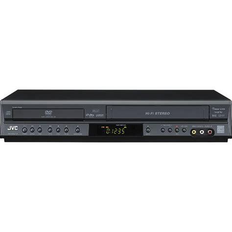 jvc dvd player format jvc hr xvc14 dvd vcr combo player black hr xvc14b b h photo