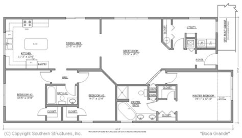 boca grande modular homes florida floor plan