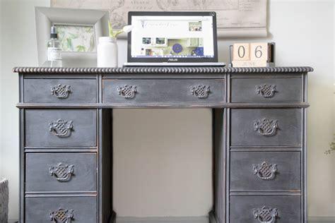 vintage painted desk seeking lavendar