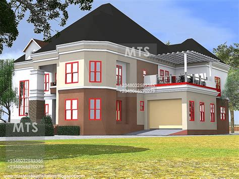 Mr Edet 6 Bedroom Duplex 6 Bedroom Duplex House Plans