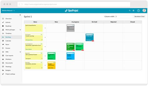 OpenProject   online project management software   free and open source