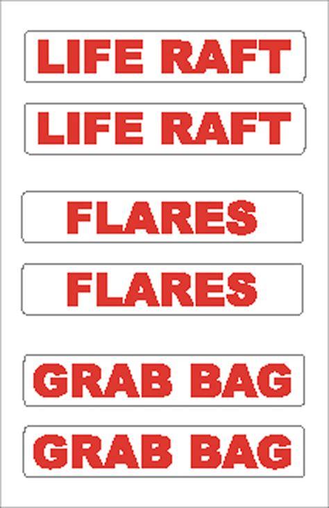 boat flares shelf life boat sticker life raft flares generator s