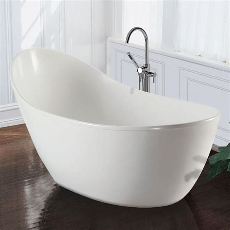 mti baths savoy slipper soaker tub