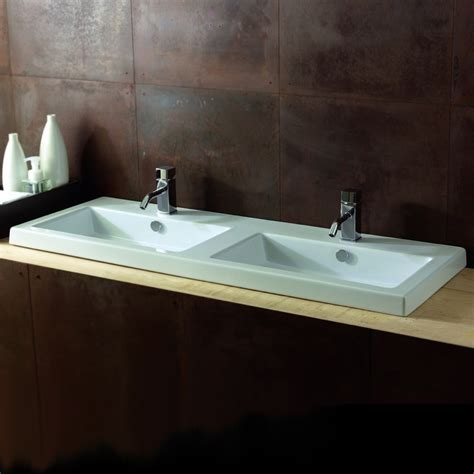 teardrop cer with bathroom tecla can04011 by nameek s cangas rectangular white double ceramic wall mounted or drop in sink