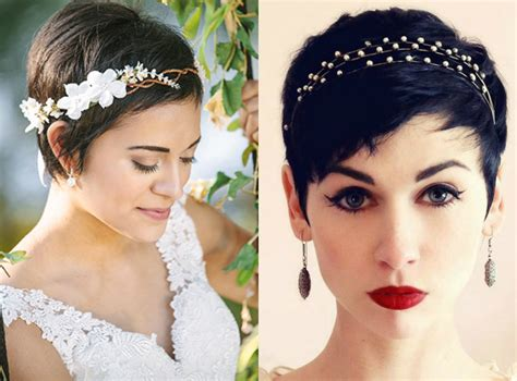 Wedding Hairstyles For Pixie Hair by Pixie Wedding Hairstyles To Inspire All Brides