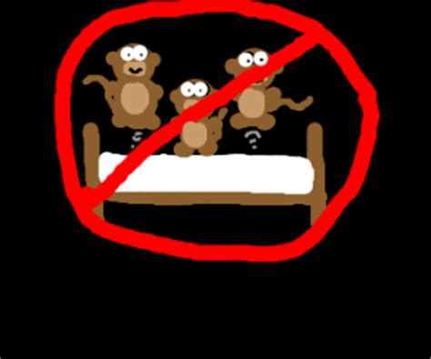 no jumping on the bed 3 little monkeys jumping on the bed