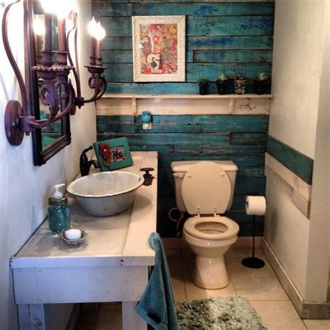 Pallet Wall Bathroom Diy Shipping Pallet Bathroom Projects Pallets Designs