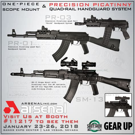 arsenal quad rail arsenal one piece scope mount and precision picatinny