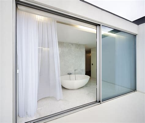 glass sliding bathroom door great modern sliding door designs to enhance your home