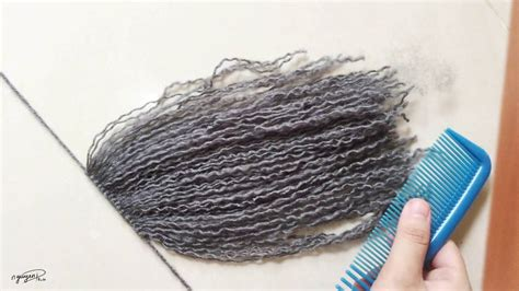 pictures of wool hair 206pro tutorial yarn doll hair for crochet doll part 1