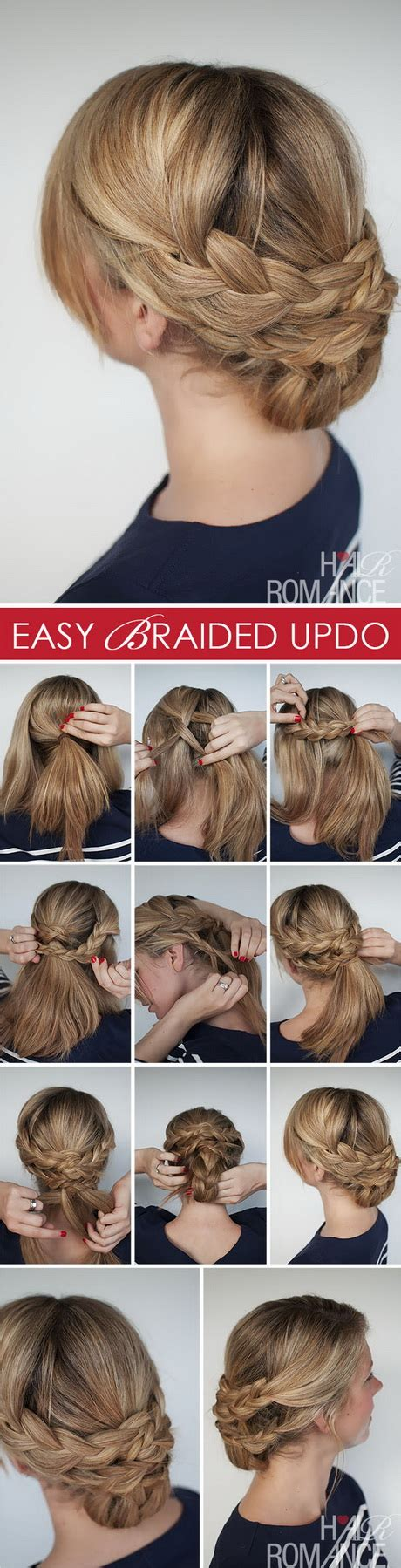 easy braided hairstyles for long hair step by step easy hairstyles for long hair step by step