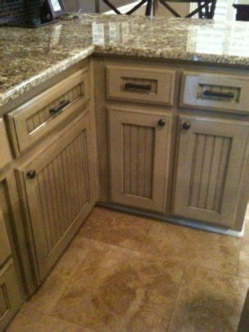 beadboard wall cabinet cabinets glaze and diy and crafts on