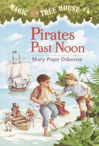 Magic Tree House Author by Past Noon Author Pope Osborne Book Cover