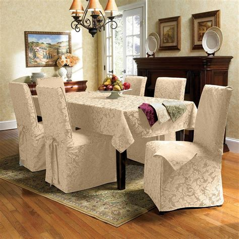 Dining Room Chair Covers Gray Grey Dining Room Chair Covers Alliancemv