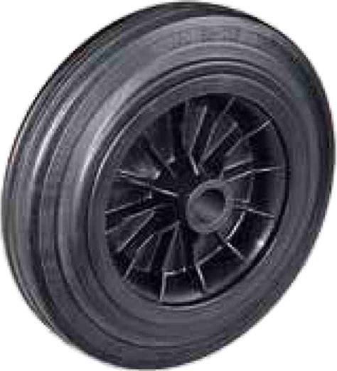 Teflon Per Kg ruote per carrelli manuali in gomma piena d mm 80x25