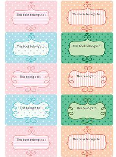 printable stationery coupons free printable book plate templates kids bookplate