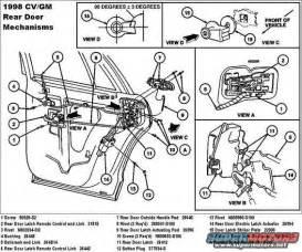 door latch 2000 ford explorer door latch