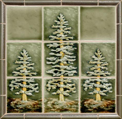 Tile Murals For Kitchen Backsplash craftsman style rustic tile portland by pratt and