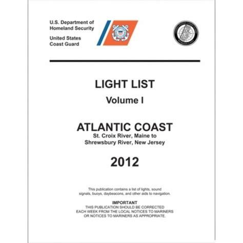 Uscg Light List uscg light list 2012