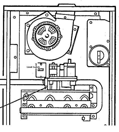 trane furnace parts diagram trane xl80 gas furnace wiring diagram get free image