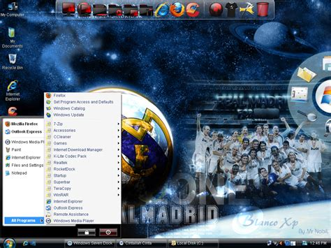 Real Madrid Edition 04 windows xp sp3 blanco real madrid edition indowebster