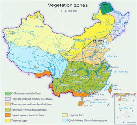 what is a map china land cover map of vegetation zones land cover map of china china travel map