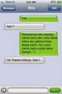 send message gombal gokil u must try it work 100 just manusia normal