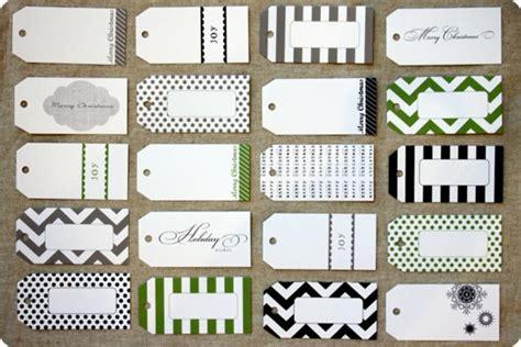 design printable gift tags free printable holiday gift tags